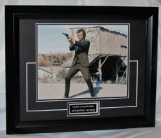 "A547CE CLINT EASTWOOD - ""DIRTY HARRY"" SIGNED"